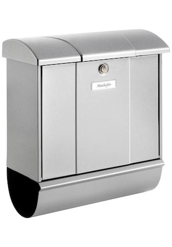 BURG WÄCHTER Briefkasten »Olymp 91600 Si«, Stahlblech - Briefkastenset kaufen
