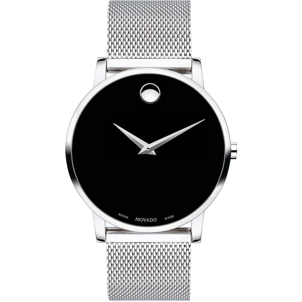 MOVADO Schweizer Uhr »MUSEUM, 607219«