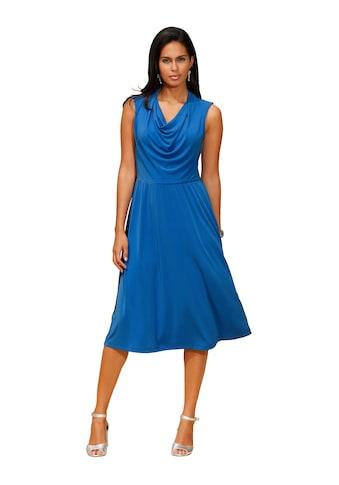 Amy Vermont Jerseykleid mit schönem Wasserfallkragen kaufen