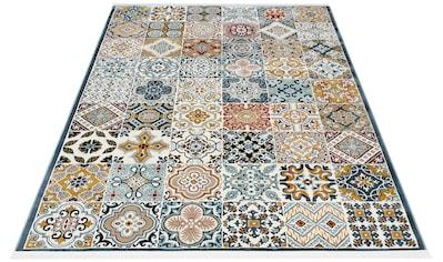 Teppich, »Navena«, Home affaire, rechteckig, Höhe 13 mm, maschinell gewebt kaufen