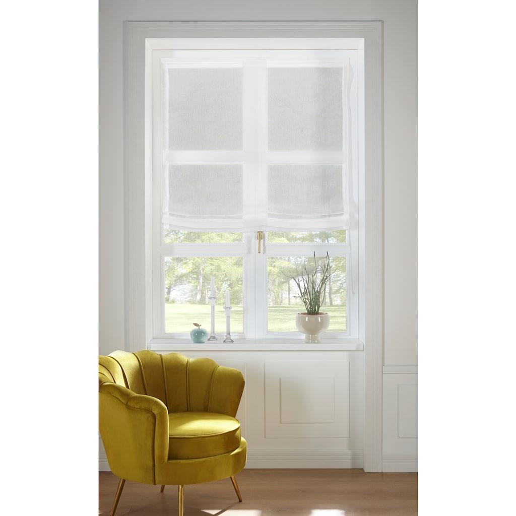 Guido Maria Kretschmer Home&Living Raffrollo »TENDER«, mit Klettband