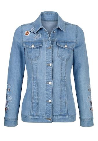 Dress In Jeansjacke mit dekorativer Stickerei kaufen