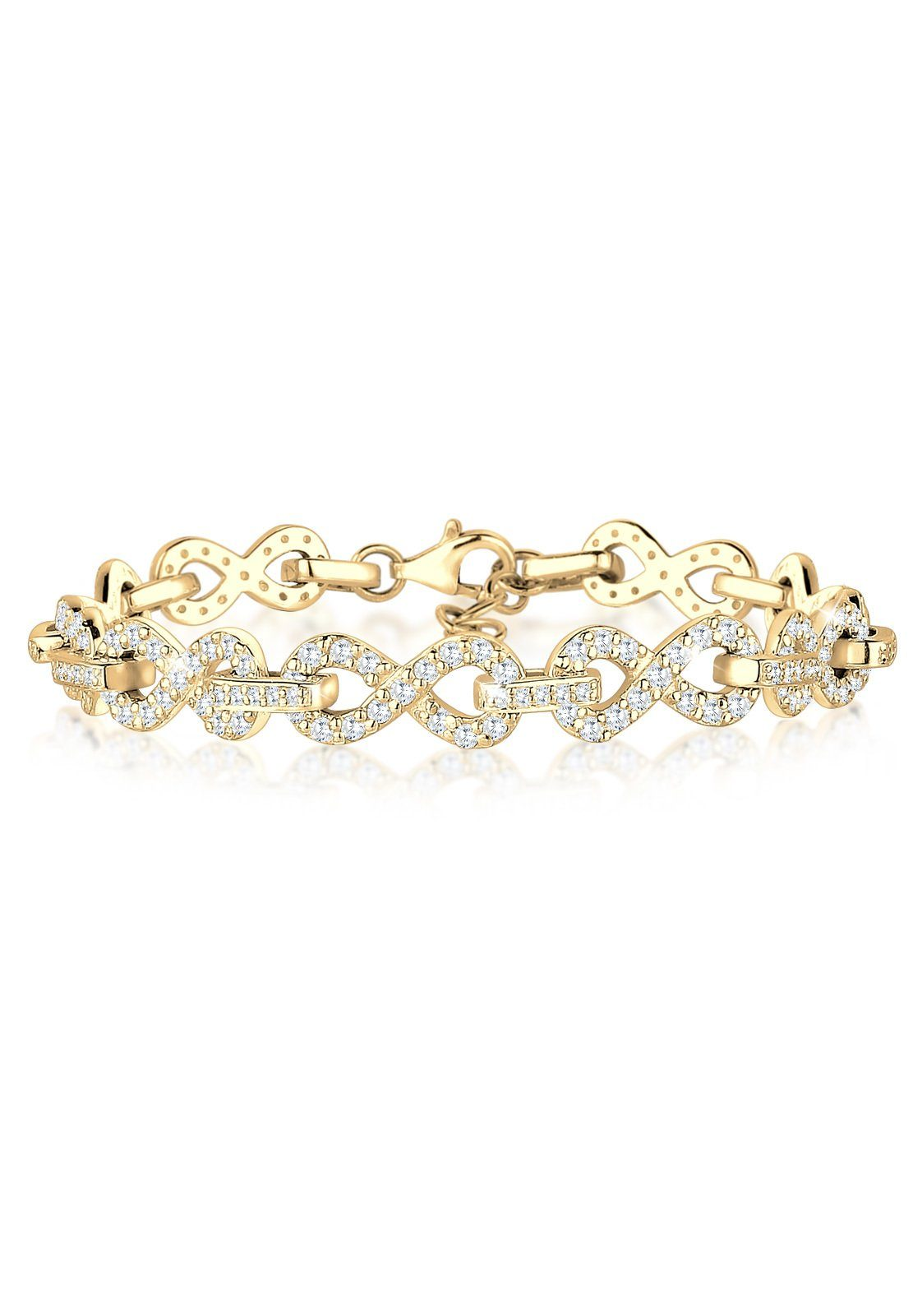 Elli Armband Infinity Zirkonia 925 Silber | Schmuck > Armbänder | Elli