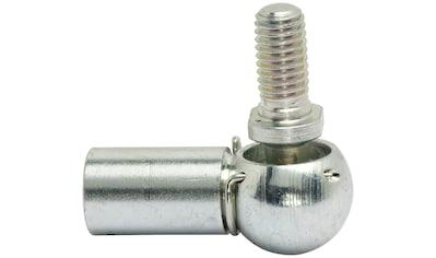 RAMSES Winkelgelenk , DIN 71802 M8 Stahl verzinkt 10 Stück kaufen