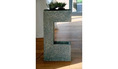 DOBAR Gartenbrunnen BxTxH: ca. 39x20,5x70 cm kaufen