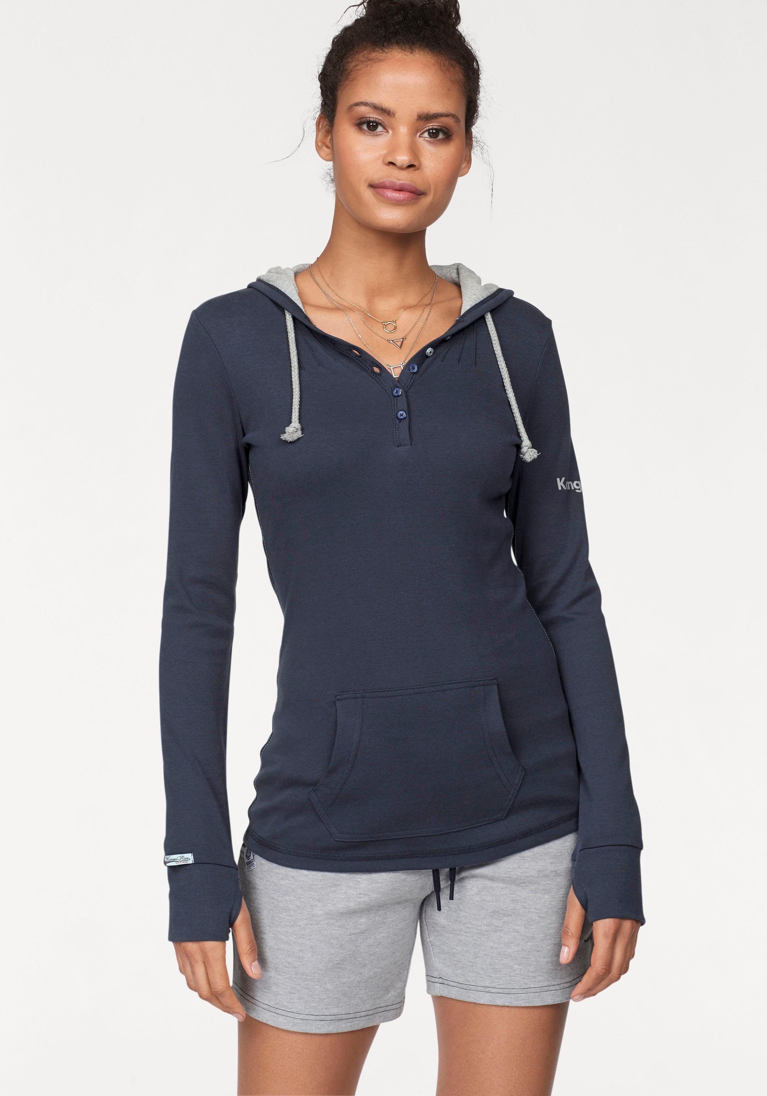 KangaROOS Kapuzenshirt | Bekleidung > Shirts > Kapuzenshirts | Blau | Kangaroos