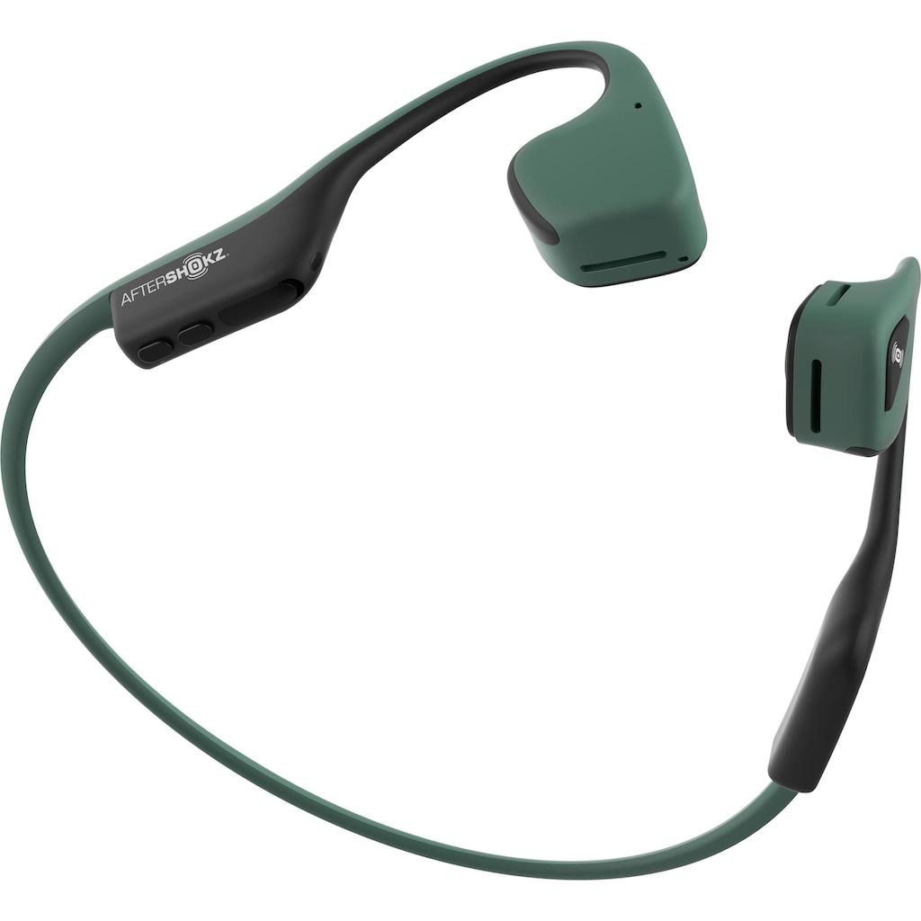 Aftershokz Sport-Kopfhörer »TREKZ AIR Bone Conduction«, Bluetooth, Noise-Cancelling-Sprachsteuerung