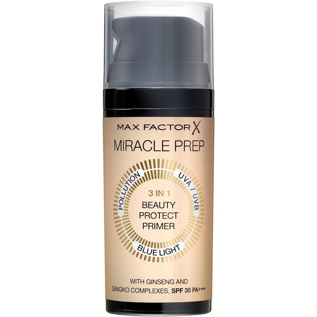 MAX FACTOR Primer »Miracle Prep 3in1«, LSF 30