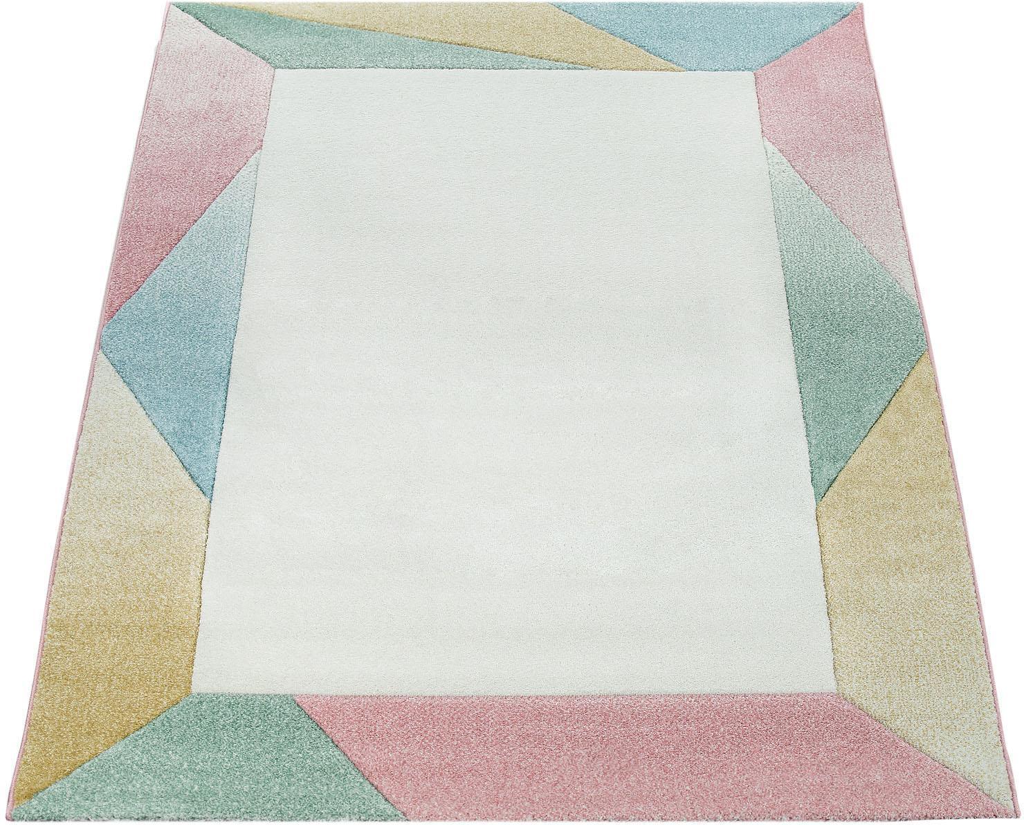 Teppich Mia 300 Paco Home rechteckig Höhe 17 mm maschinell gewebt