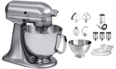 KitchenAid Küchenmaschine »Artisan 5KSM175PSECU«, 300 W, 4,8 l Schüssel, mit Gratis... kaufen