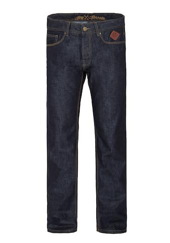 KingKerosin Regular-fit-Jeans »Robin«, in dark blue mit Logo-Patch kaufen