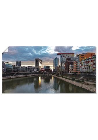 Artland Wandbild »Sonnenuntergang MedienHafen Düsseldorf«, Deutschland, (1 St.), in... kaufen