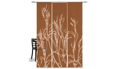 emotion textiles Schiebegardine »Ähren«, HxB: 260x60, mit Befestigungszubehör kaufen