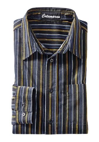 Catamaran Langarm - Hemd aus Feincord kaufen