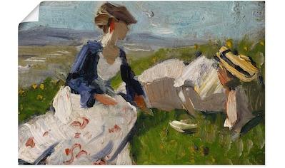 Artland Wandbild »Zwei Frauen am Berg« kaufen