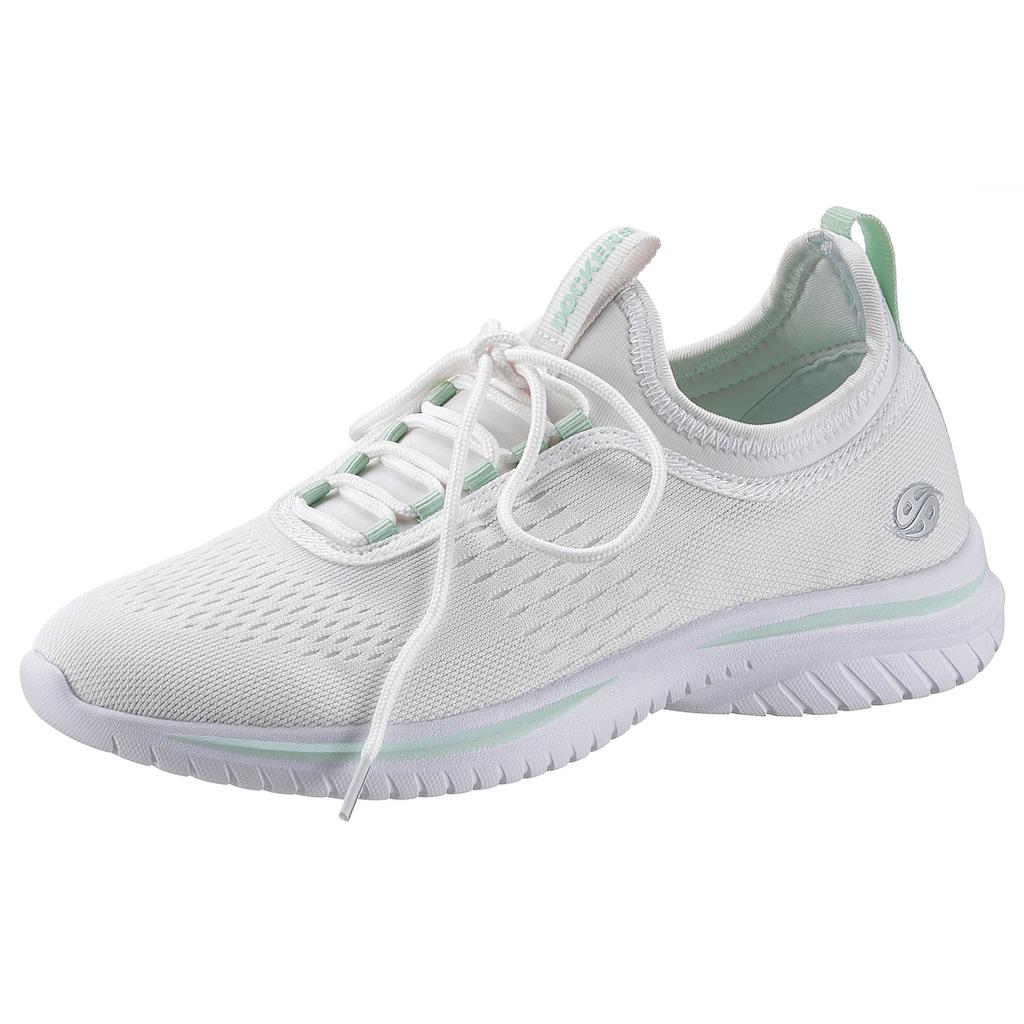 Dockers by Gerli Slip-On Sneaker, mit elastischem Einstieg