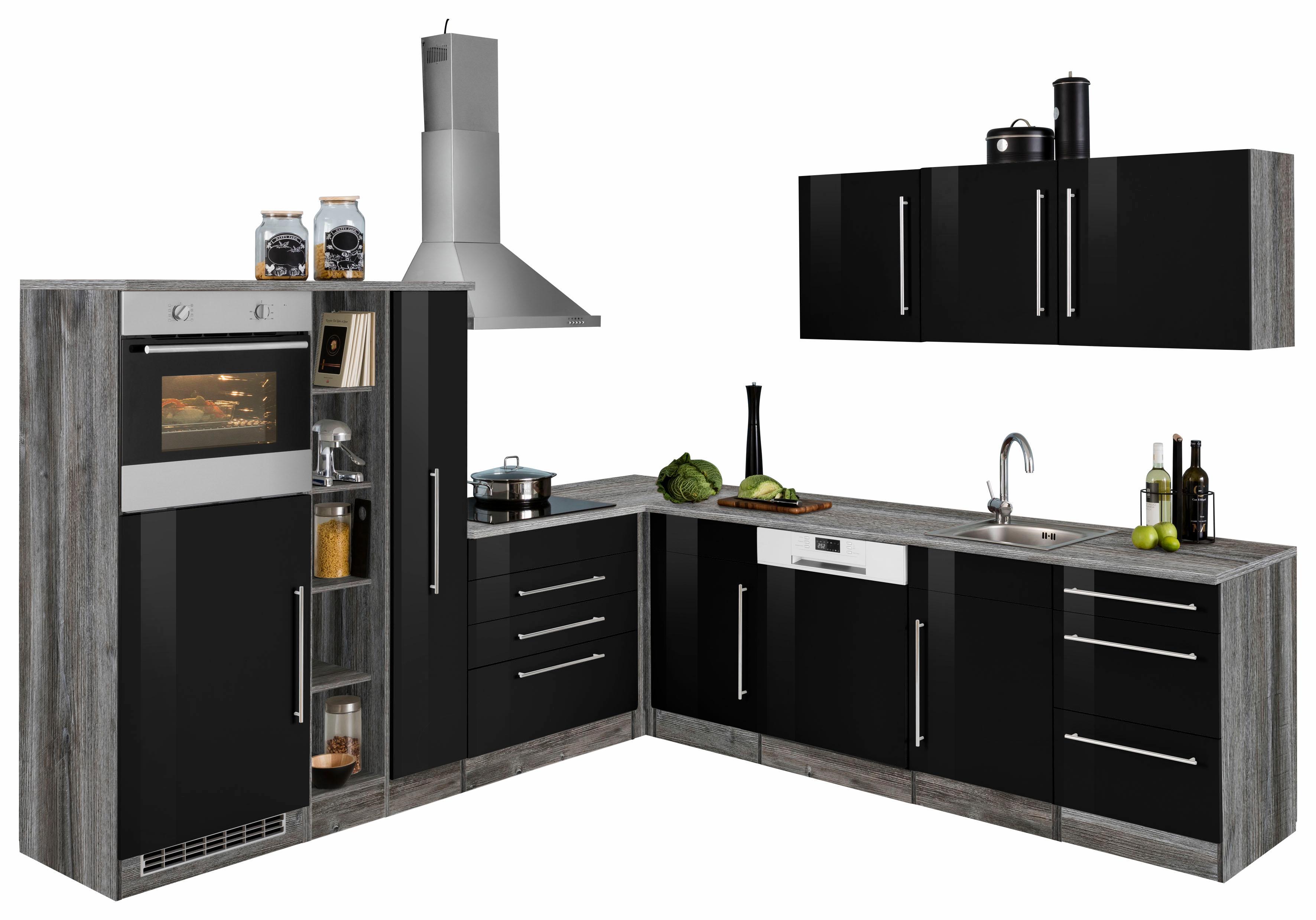 HELD MÖBEL Winkelküche Samos ohne E-Geräte Stellbreite 260 x 270 cm