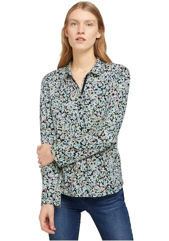 TOM TAILOR Blusenshirt, mit Henley Ausschnitt kaufen