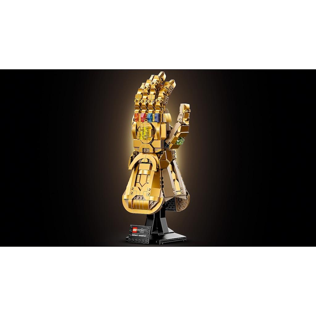 LEGO® Konstruktionsspielsteine »Infinity Handschuh (76191), Marvel Avengers Movie 4«, (590 St.), Made in Europe