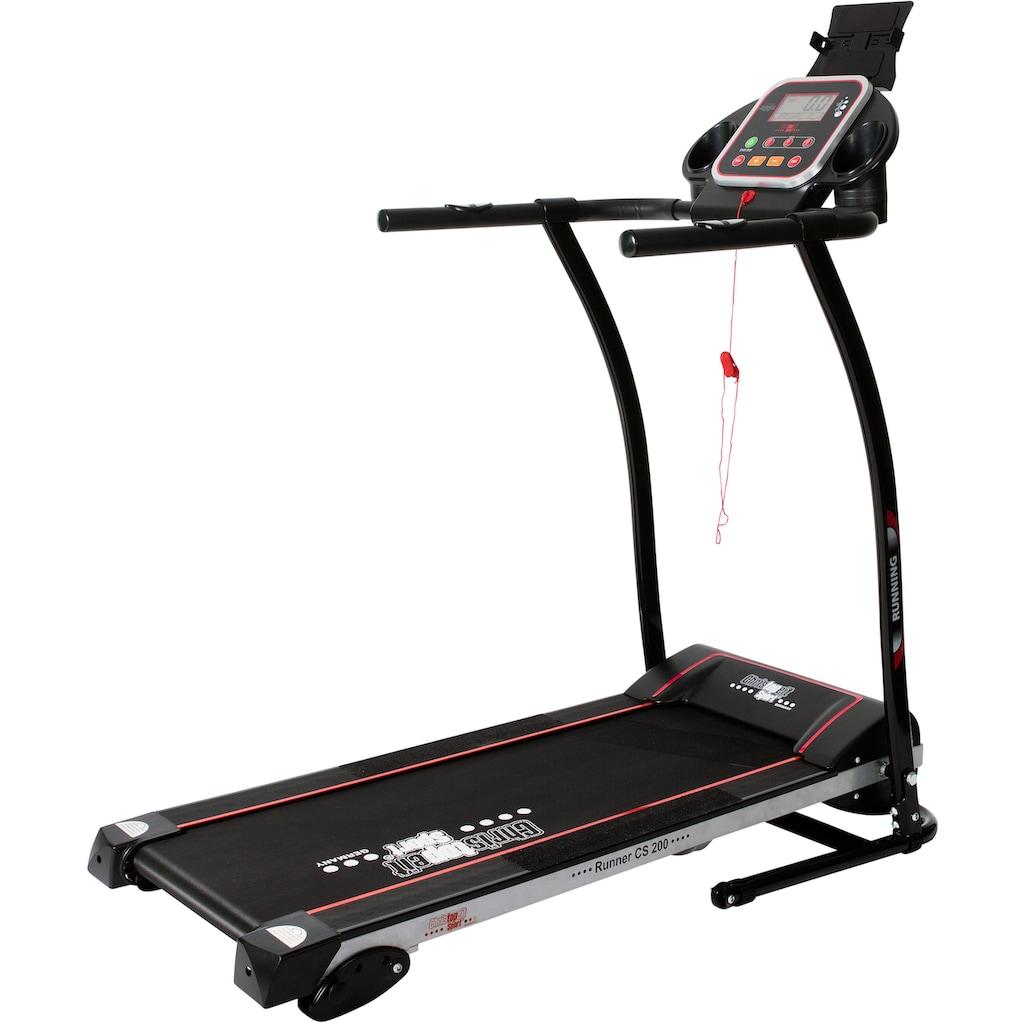 Christopeit Sport® Laufband »Laufband CS 200«, platzsparende Bauart