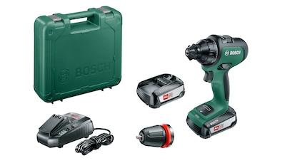 BOSCH Akku - Bohrschrauber »AdvancedDrill 18«, 18 V, 1250 U/Min, 32 Nm, inkl. 2 Akkus, Ladegerät & Zubehör kaufen
