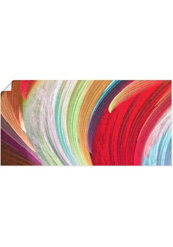 Artland Wandbild »Windwellen I«, Muster, (1 St.), in vielen Größen & Produktarten -... kaufen