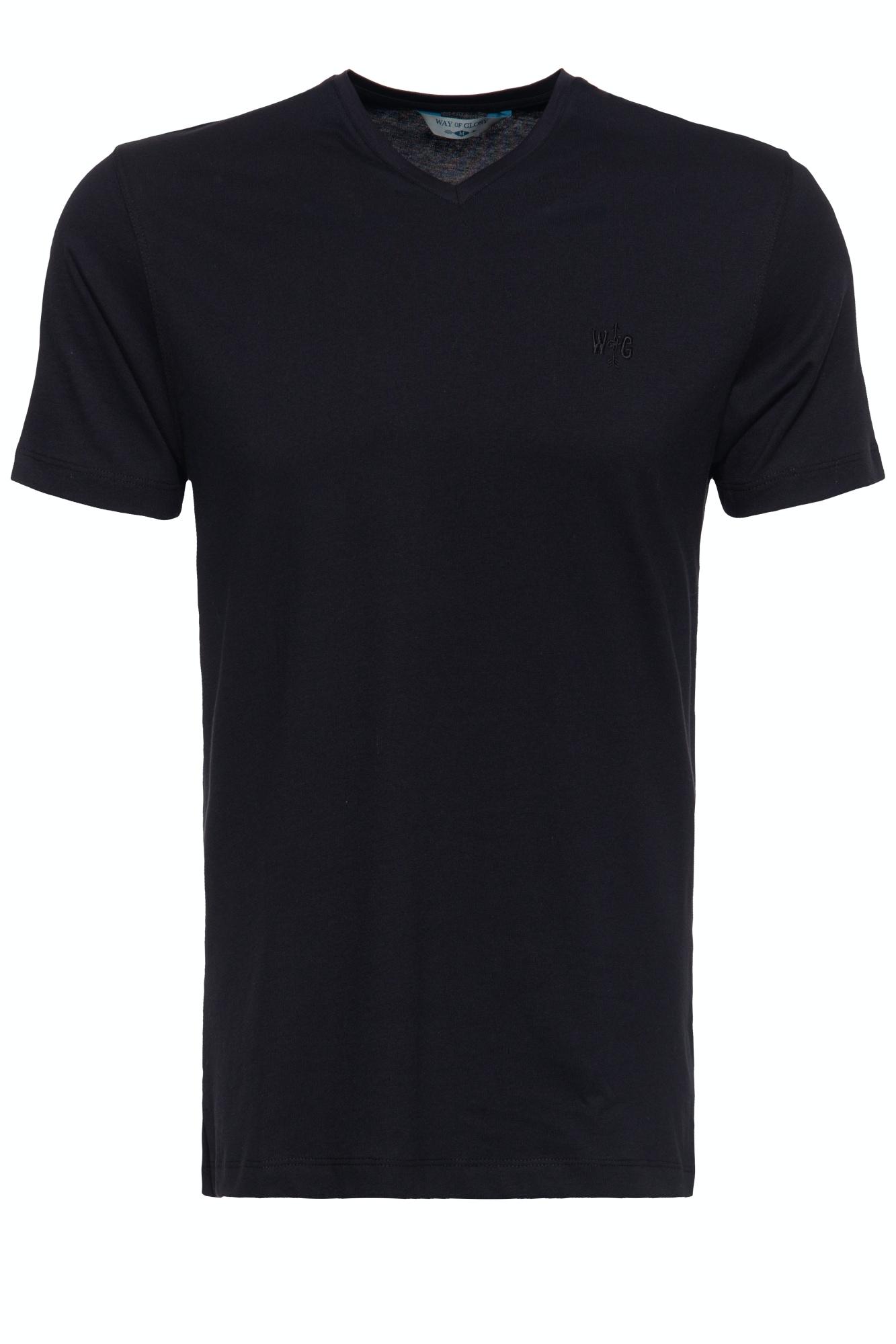 way of glory -  T-Shirt, mit V-Ausschnitt