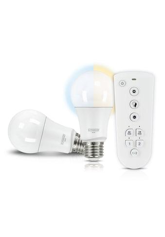SCHWAIGER LED Lampen Set E27 dimmbar  - smarte LED -  Glühbirnen Akzentlicht »mit Fernbedienung« kaufen