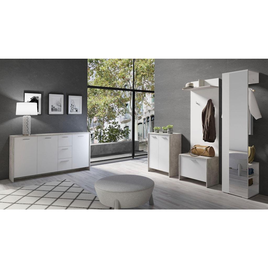 Homexperts Garderobenschrank »Benno«, mit Spiegel