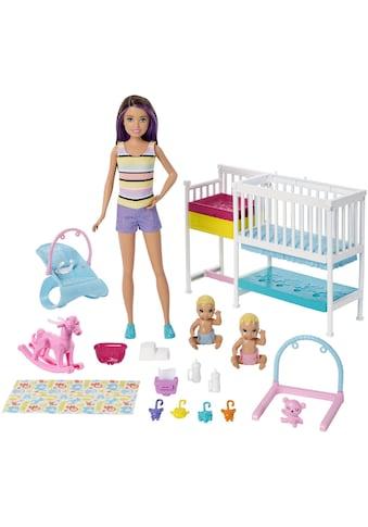 """Mattel® Anziehpuppe """"Barbie Skipper Babysitters Kinderzimmer - Spielset"""" kaufen"""