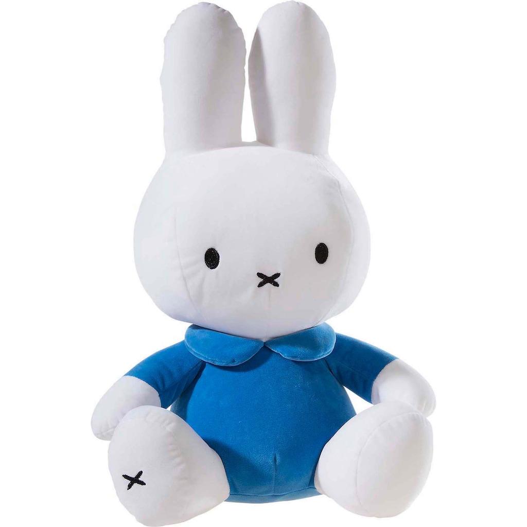 Heunec® Kuscheltier »Miffy Hasendame blau/orange, 50cm«