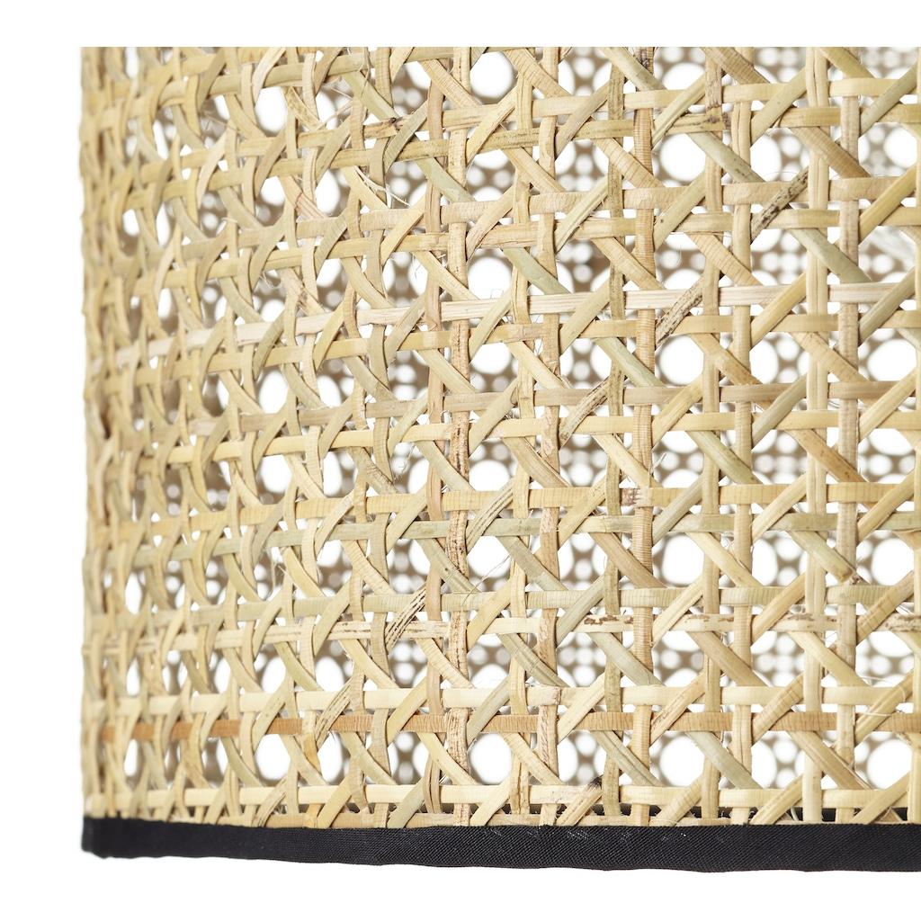 Brilliant Leuchten Pendelleuchte »WILEY«, E27, 1 St., Hängeleuchte, Kabel kürzbar; für LED-Leuchtmittel geeignet; dimmbar über externen Dimmer bei Verwendung eines geeigneten Leuchtmittels, Wiener Geflecht