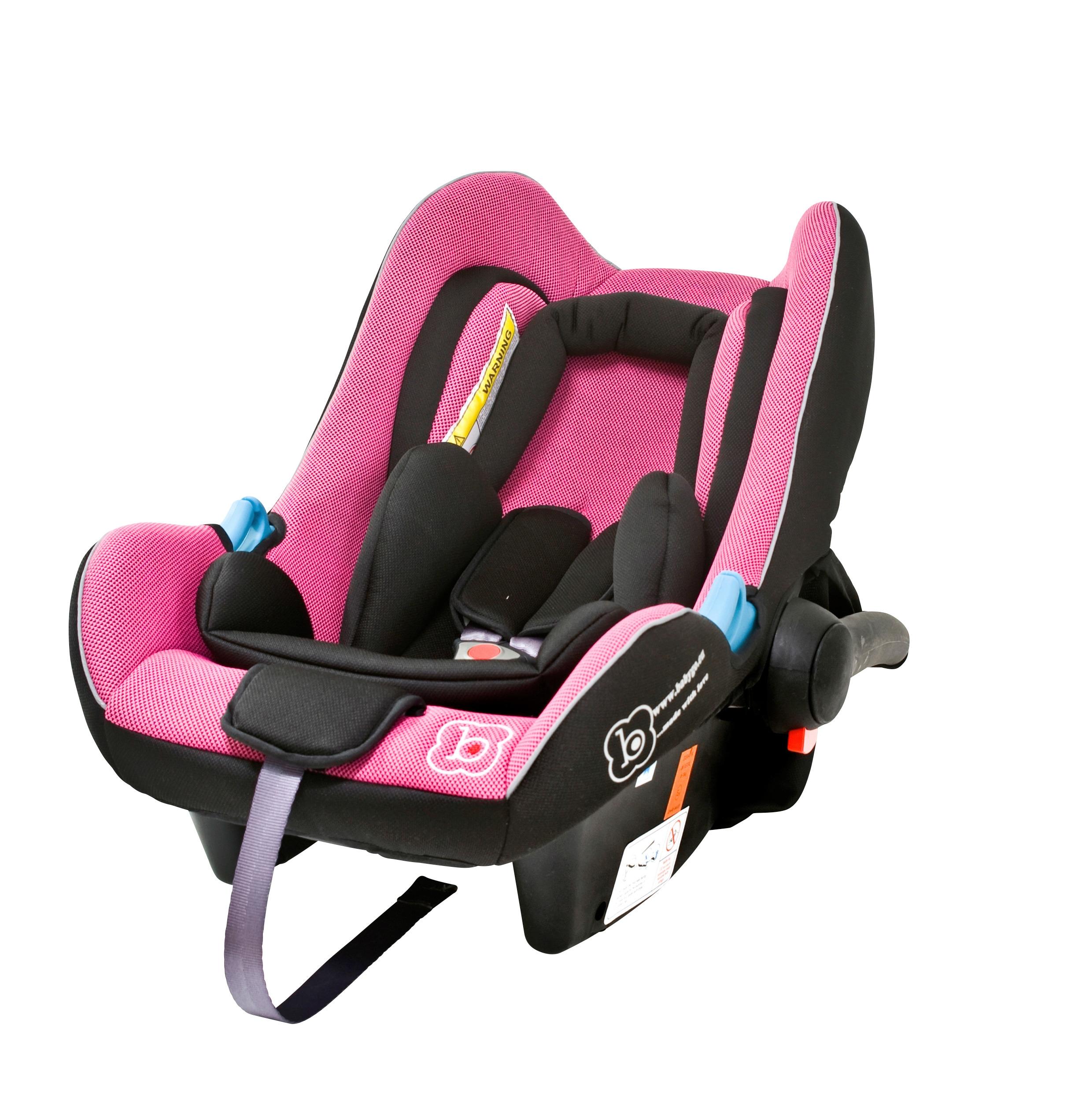 BabyGo Babyschale Travel XP, Klasse 0+ (bis 13 kg) rosa Baby Babyschalen Autositze Zubehör