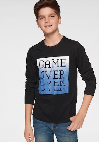 Arizona Langarmshirt »GAME OVER« kaufen