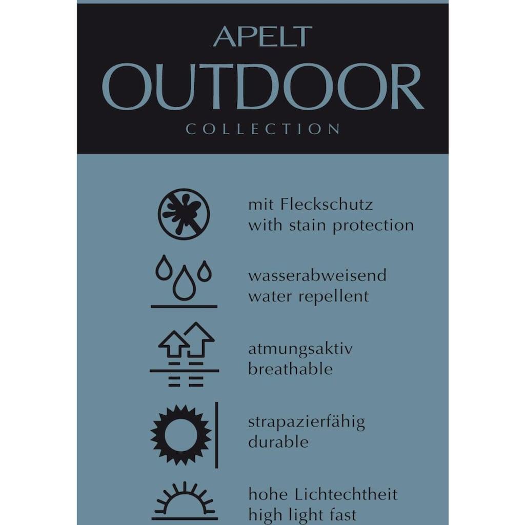 APELT Tischläufer »3961 Outdoor«, (1 St.), Jacquardgewebe