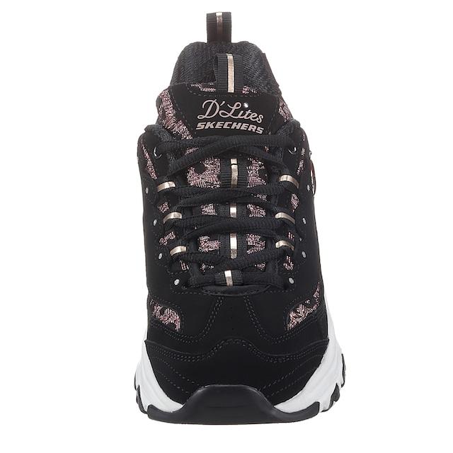 Skechers Sneaker »D´LITES - FANCY LEOPARD«