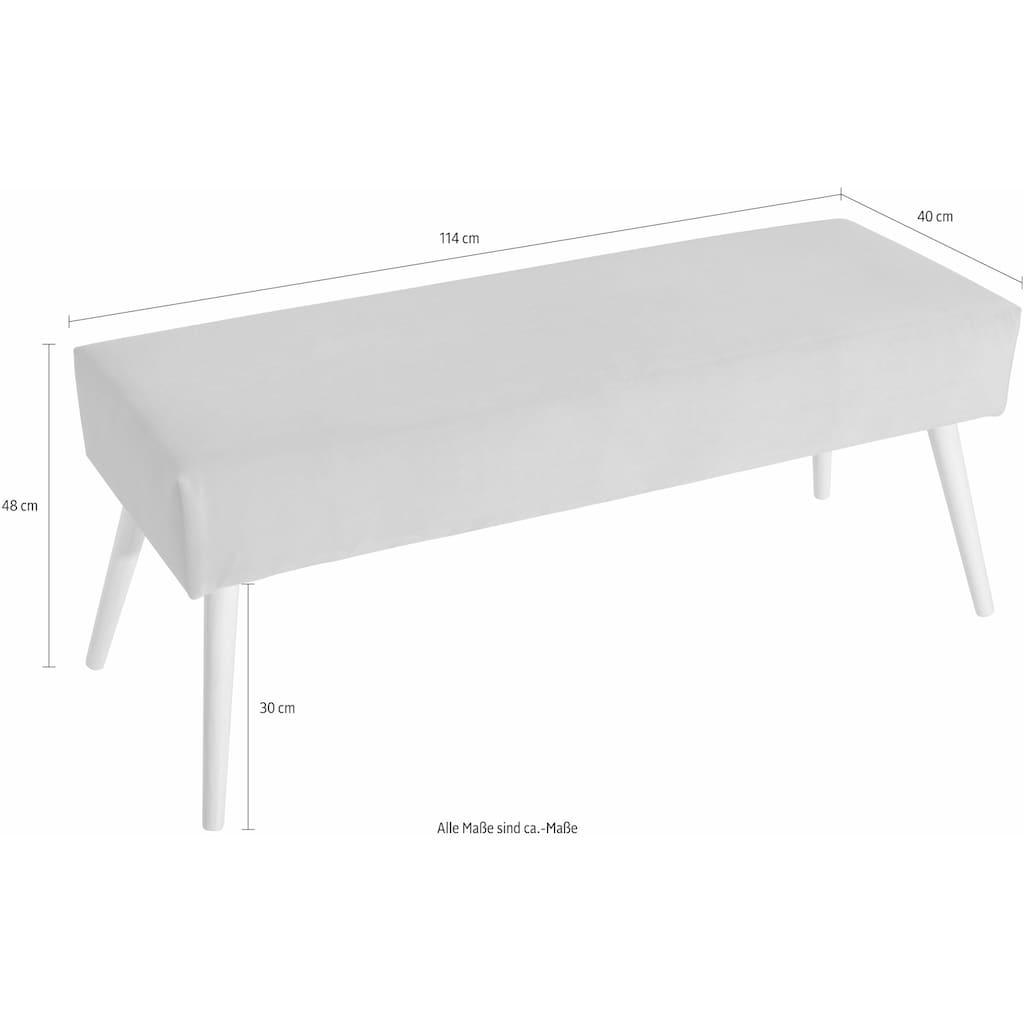 Max Winzer® Sitzbank »Sit«, mit hohen konischen Füßen