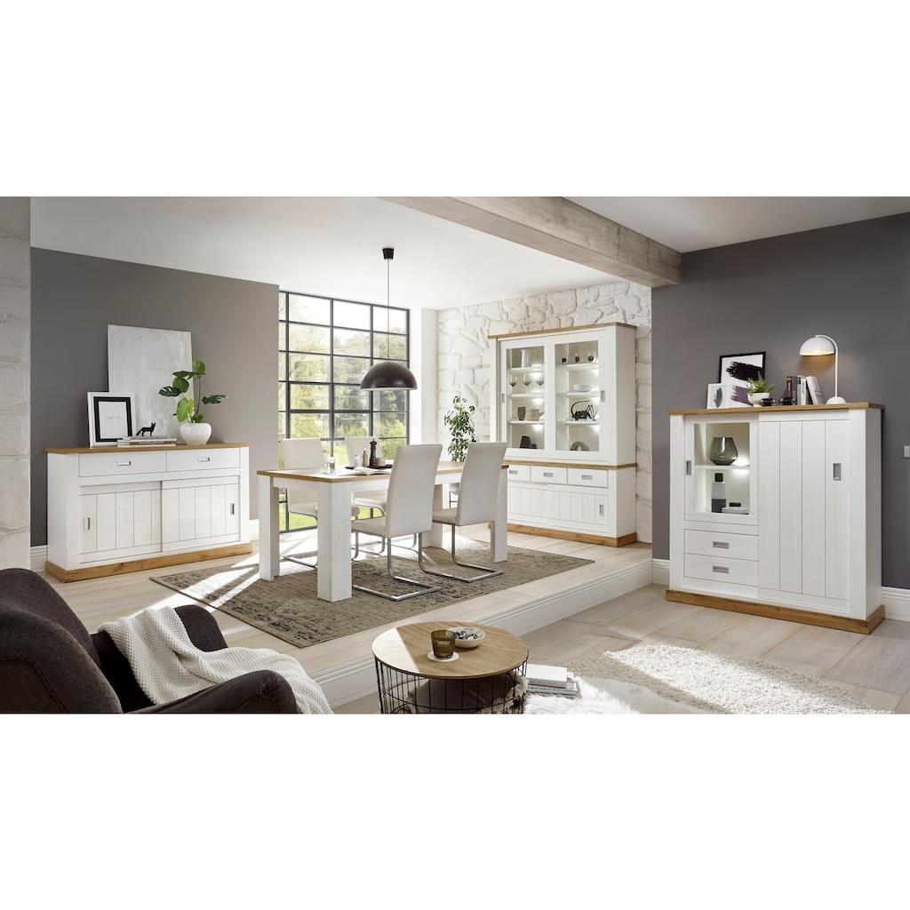 Home affaire Highboard »ORLANDO«, im romantischen Landhaus-Look