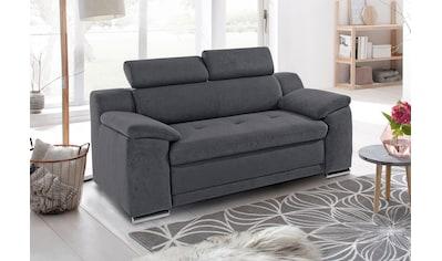 sit&more 2-Sitzer, inklusive Kopfteilverstellung kaufen