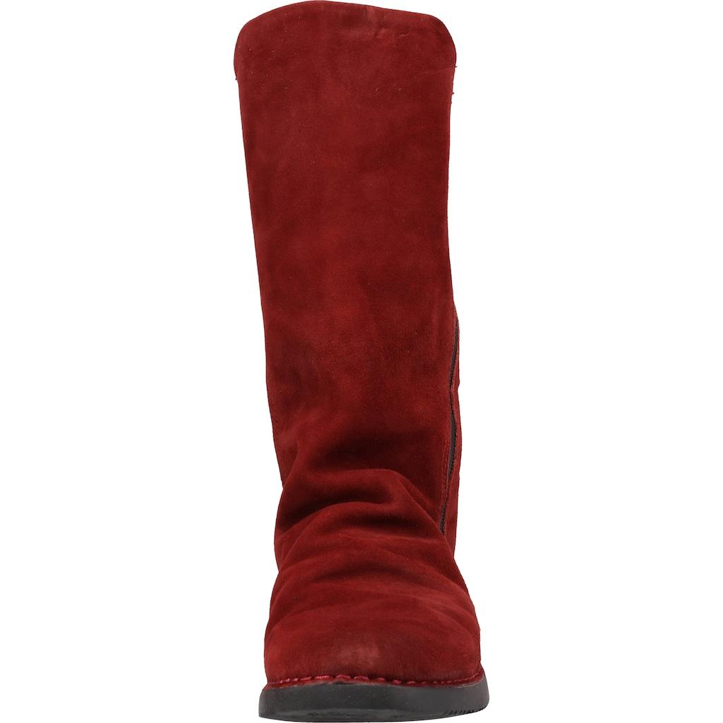 softinos Stiefel »Veloursleder«