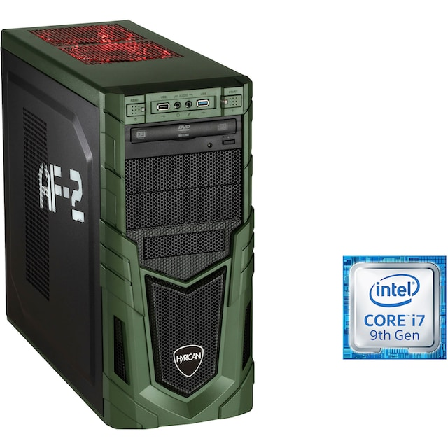 Hyrican »Military Gaming 6535« Gaming-PC (Intel, Core i7, RTX 2080 SUPER, Luftkühlung)