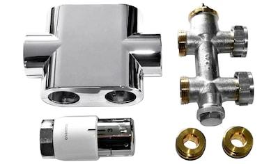 SZ METALL Heizkörperthermostat »Durchgangsanschluss »Universal«, chrom« kaufen