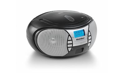 Karcher tragbares CD - Radio »RR 5025 - B« kaufen