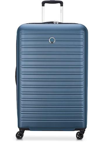 """Delsey Hartschalen - Trolley """"Segur, 70 cm, blue"""", 4 Rollen kaufen"""
