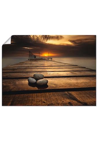 Artland Wandbild »Sonnenaufgang am Schwarzen Meer« kaufen