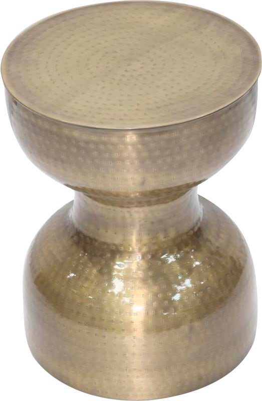 Paroli Beistelltisch silberfarben Beistelltische Kleinmöbel Tisch