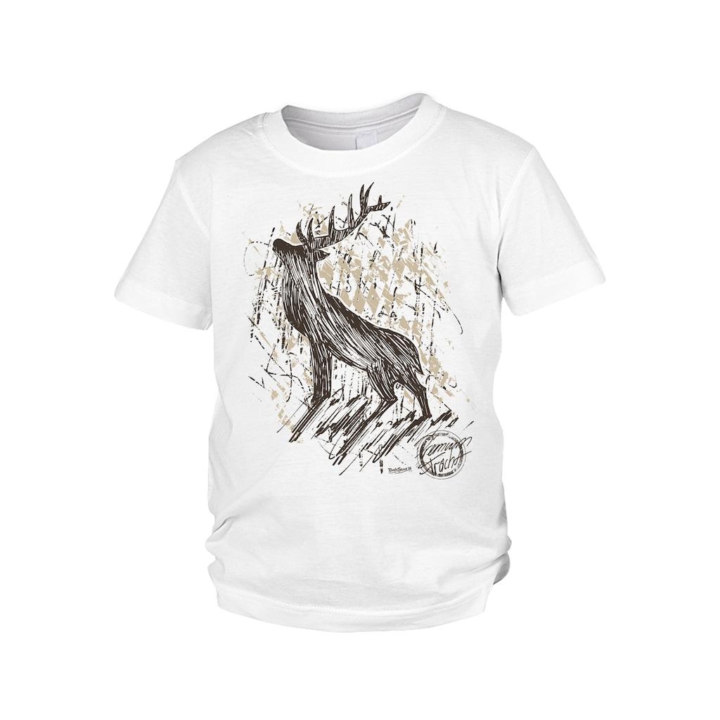 Der Trachtler T-Shirt aus 100% Bio-Baumwolle