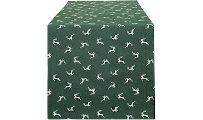 HOSSNER - HOMECOLLECTION Tischläufer »Sprunghirsch« kaufen