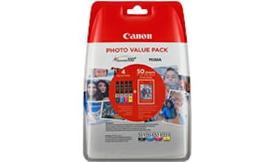 Canon Tintenpatrone »CLI-551XL C/M/Y/BK + Foto Papier« kaufen