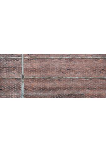 Architects Paper Fototapete »Brick Red«, Backstein Wand, Vlies, glatt kaufen
